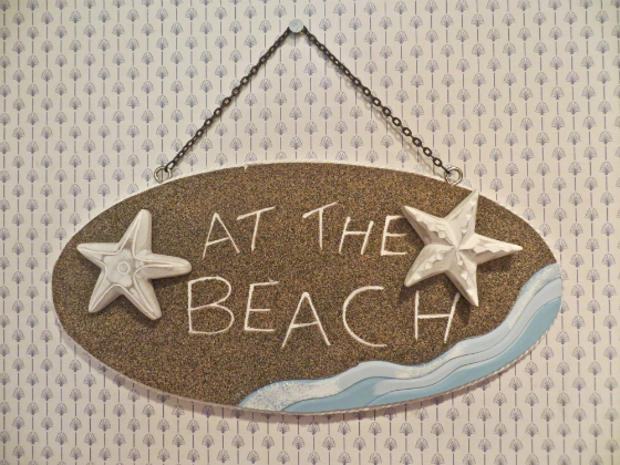 Beach Inspired Home Decor Wall Sign