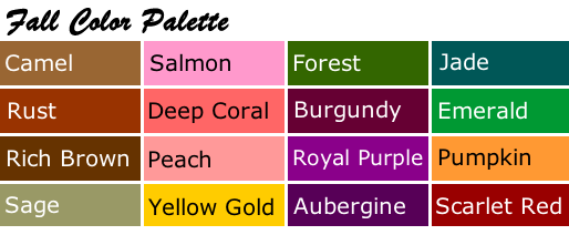 personal color palettes your most flattering colors