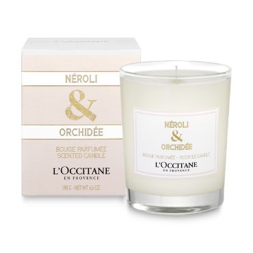 L'Occitane Neroli and Orchidee Scented Candle