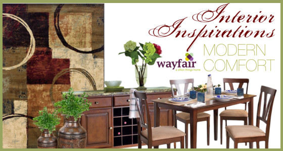 Interior Inspirations - Wayfair Area Rugs
