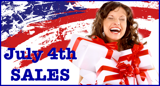 July 4th Sales Deals Coupons