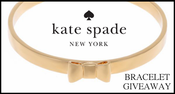 Kate Spade New York Take A Bow Bracelet Giveaway