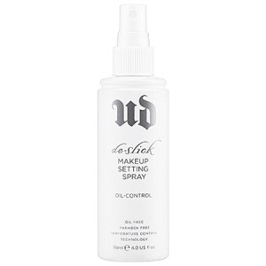 Urban Decay De-Slick Oil-Control Makeup Setting Spray - Must-Have Makeup for Summer