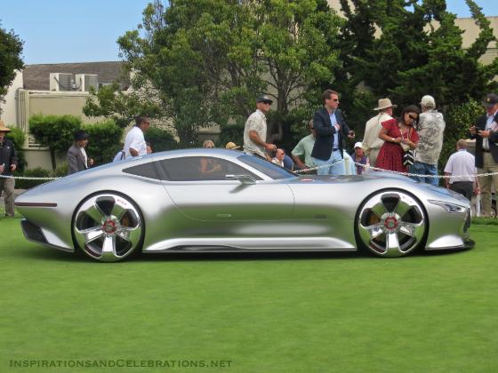 2014 Pebble Beach Concours d'Elegance Concept Car Lawn