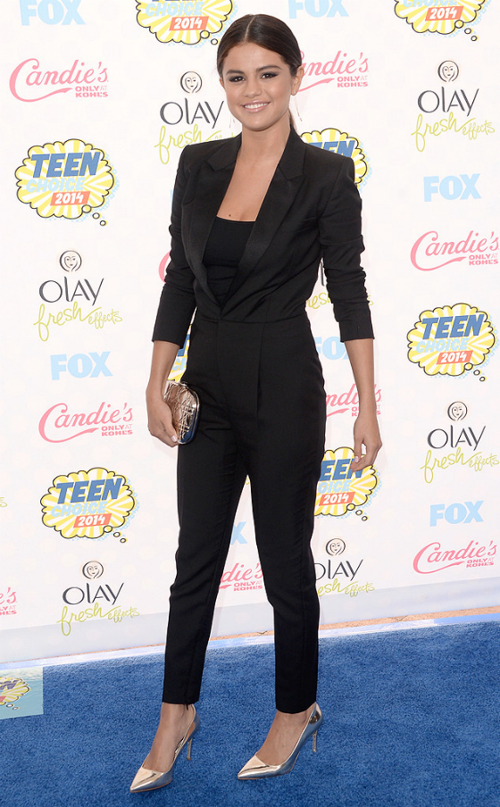 2014 Teen Choice Awards Fashion Selena Gomez