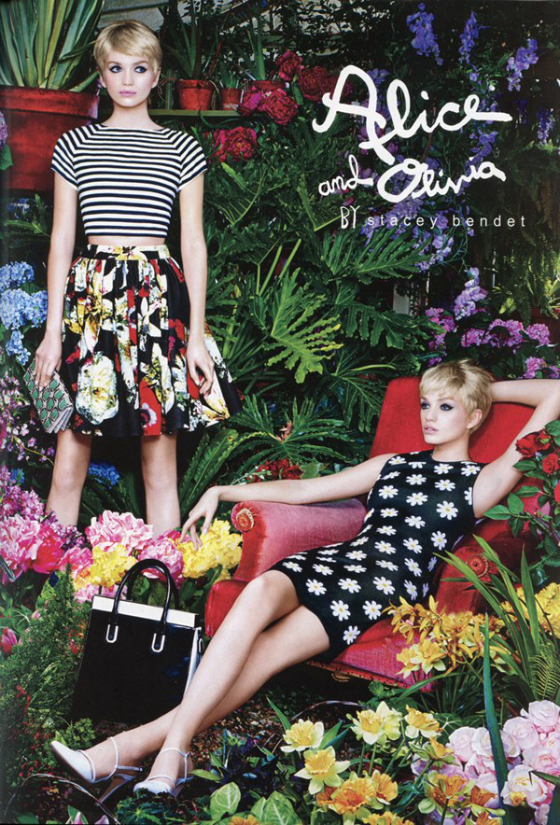 Alice + Olivia Summer 2014 Fashion