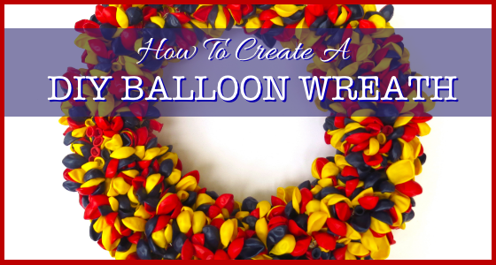 How To Create A DIY Balloon Wreath