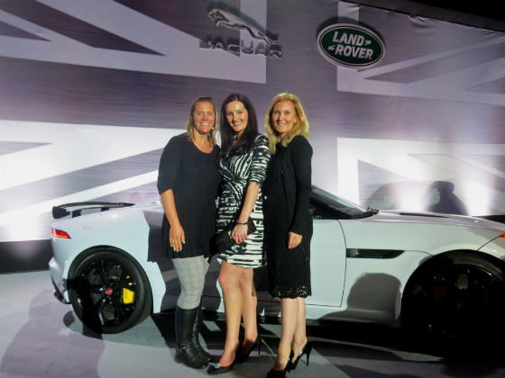 Kay Sorensen and Natascha Wolber Jaguar Pebble Beach Concours d'Elegance Party 2014