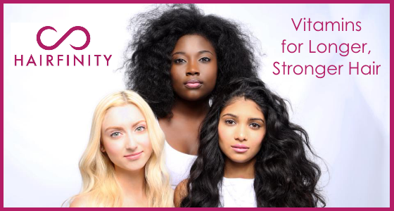 Hairfinity Vitamins Longer Stronger Hair