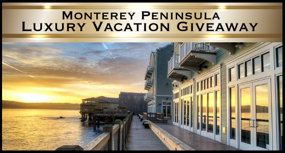Monterey Peninsula Luxury Vacation Giveaway