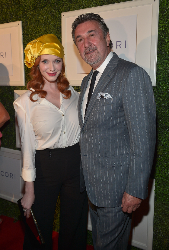 Christina Hendricks at TACORI Gentleman's Jewelry Launch Party
