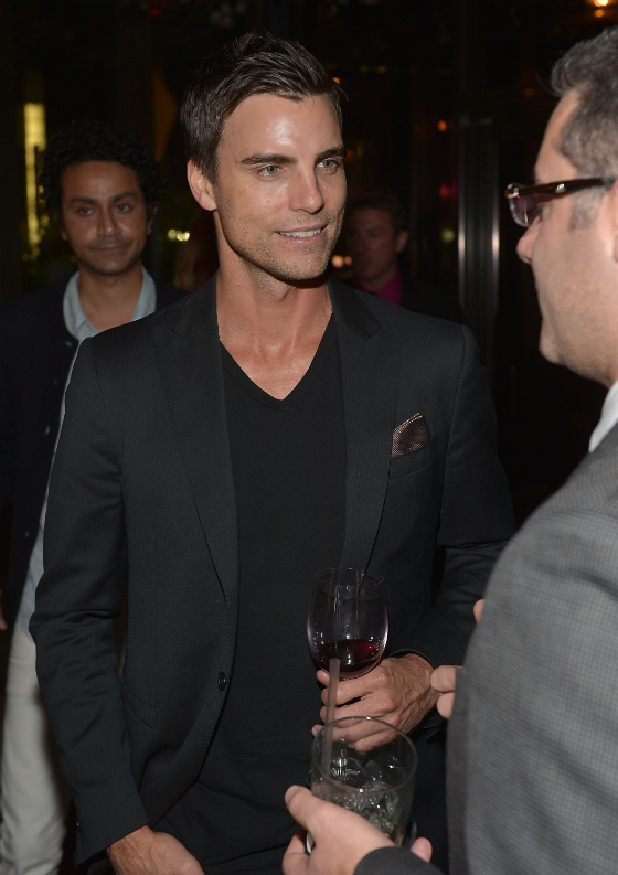 Colin Egglesfield at TACORI Gentleman's Jewelry Launch Party