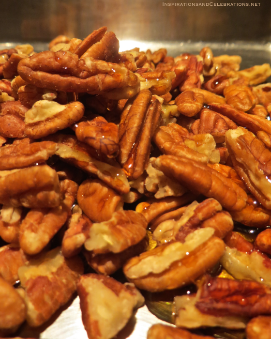 How To Cook Healthy Fall Meals - Toasted Glazed Pecans