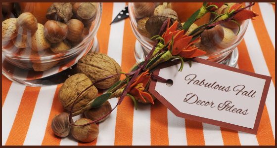Interior Inspirations - Fabulous Fall Decor Ideas