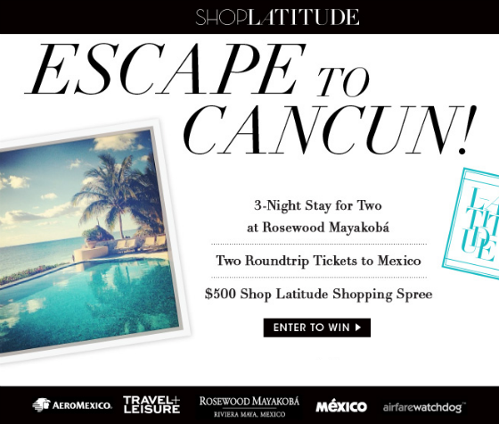 Cancun Sweepstakes