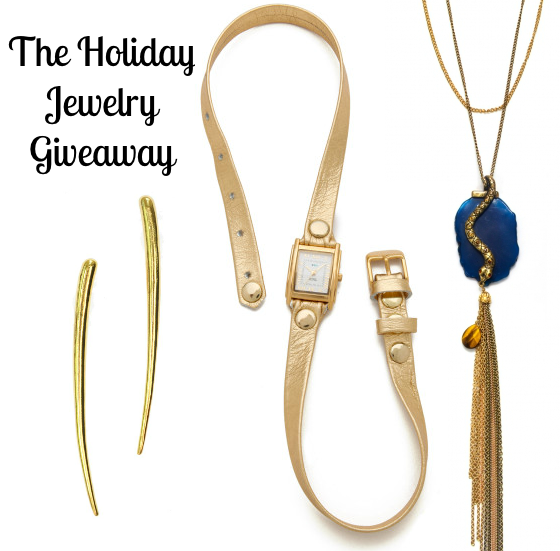 Holiday Jewelry Giveaway Prize Package