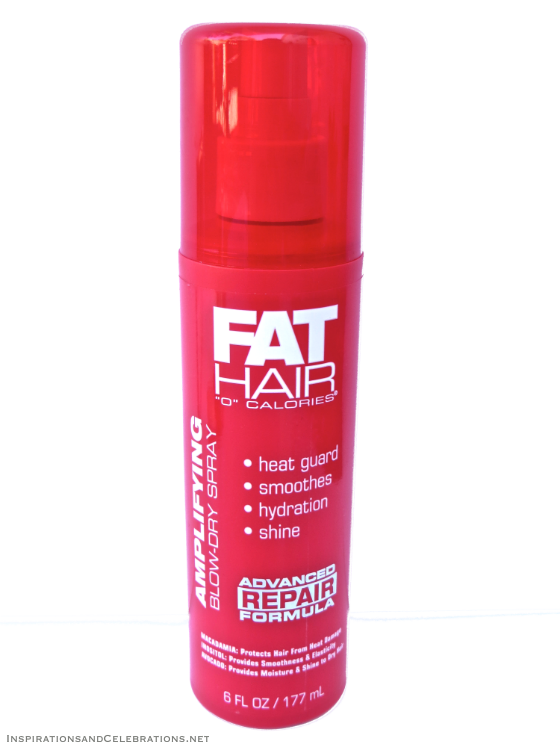 The Fabulous Hair Giveaway - Fat Hair Amplifying Blow-Dry Spray
