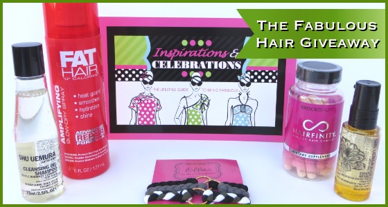 The Fabulous Hair Giveaway - Haircare Products & Accessories