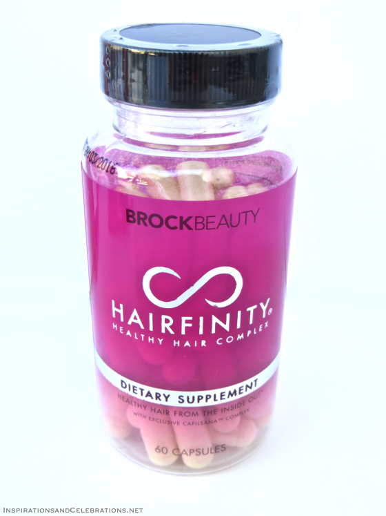 The Fabulous Hair Giveaway - Hairfinity Dietary Supplement