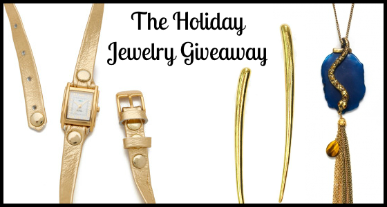 The Holiday Jewelry Giveaway Prize Package