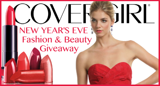 New Years Eve Fashion and Beauty Giveaway KissedByCOVERGIRL