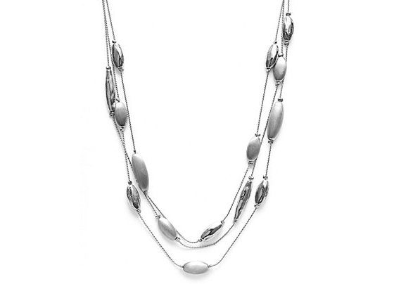Sophisticated Style Giveaway - Charter Club Silver-Tone Toggle Necklace
