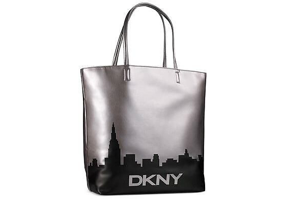 Sophisticated Style Giveaway - DKNY Silver Tote Bag