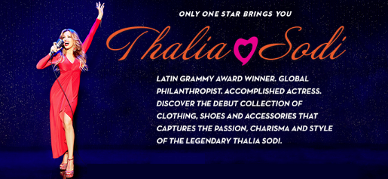 Thalia Sodi Spring 2015 Collection