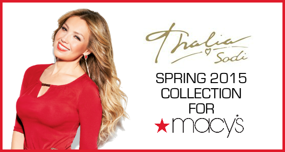 Thalia Sodi Spring 2015 Collection for Macy's