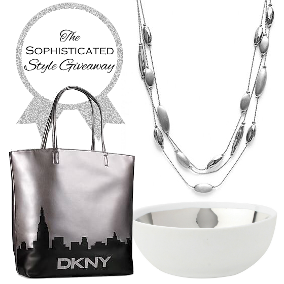 The Sophisticated Style Giveaway - Jewelry Decor Accessories