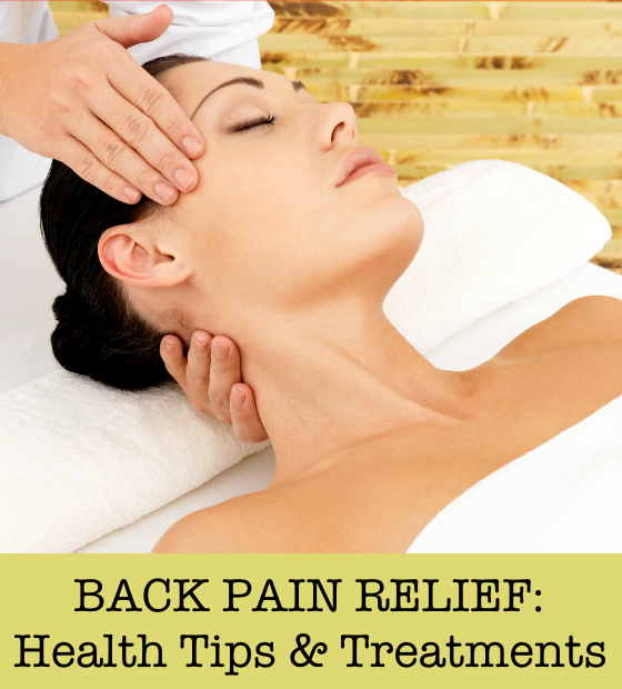 Back Pain Relief Health Tips & Treatments