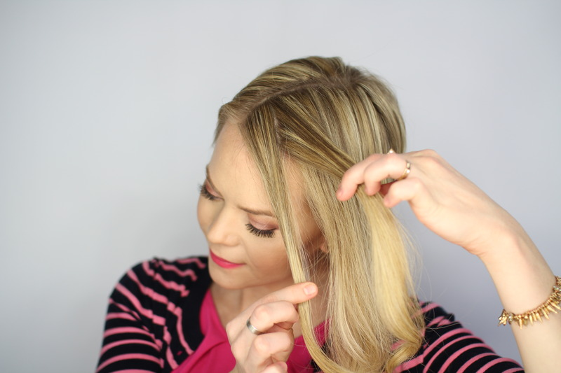 Beauty Tutorial Easy Knotted Updo Hairstyle Guide