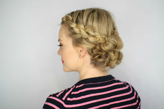 Easy Knotted Updo Hairstyle Guide