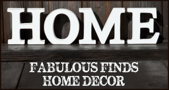 Fabulous Finds Home Decor May 2015