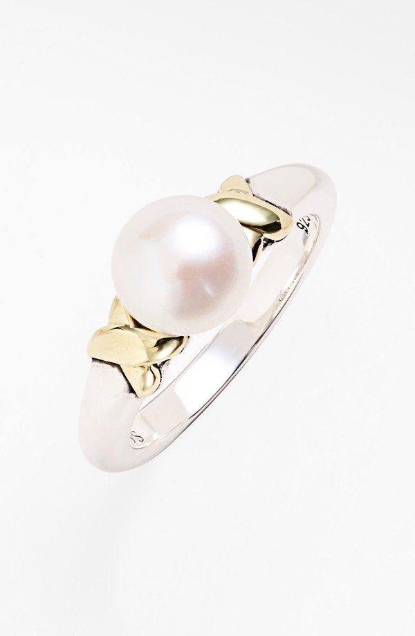 Fabulous Finds Luxury Jewelry - Lagos Pearl Rings