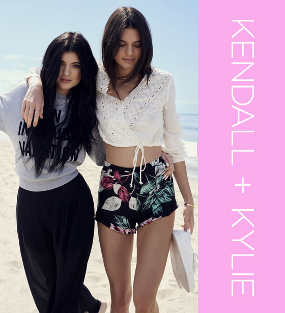 Kendall and Kylie Topshop Collection