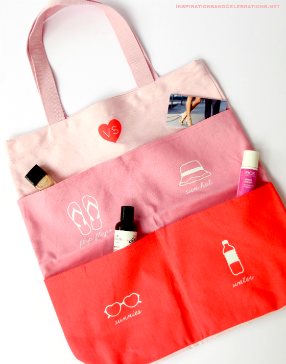 Sexy for Summer Beauty Giveaway - Victoria's Secret Tote Bag