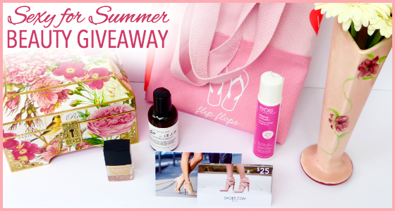 Sexy for Summer Beauty Giveaway - Prize Package