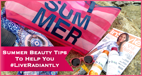 Summer Beauty Tips To Help You Live Radiantly St Ives