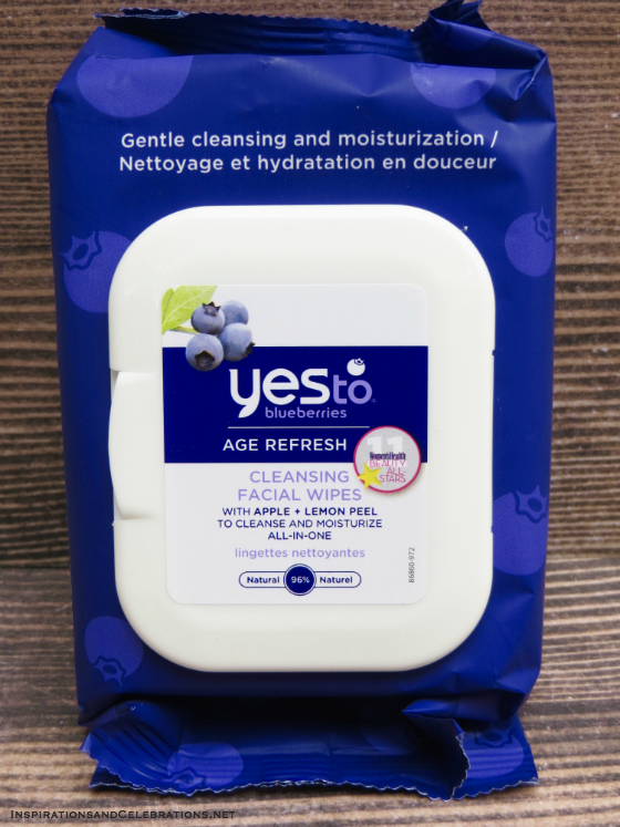 Sizzling Summer Style and Beauty Giveaway - Yes To Blueberries Cleansing Facial Wipes