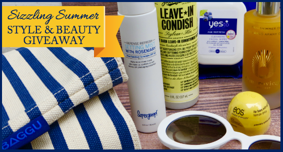 Sizzling Summer Style and Beauty Giveaway