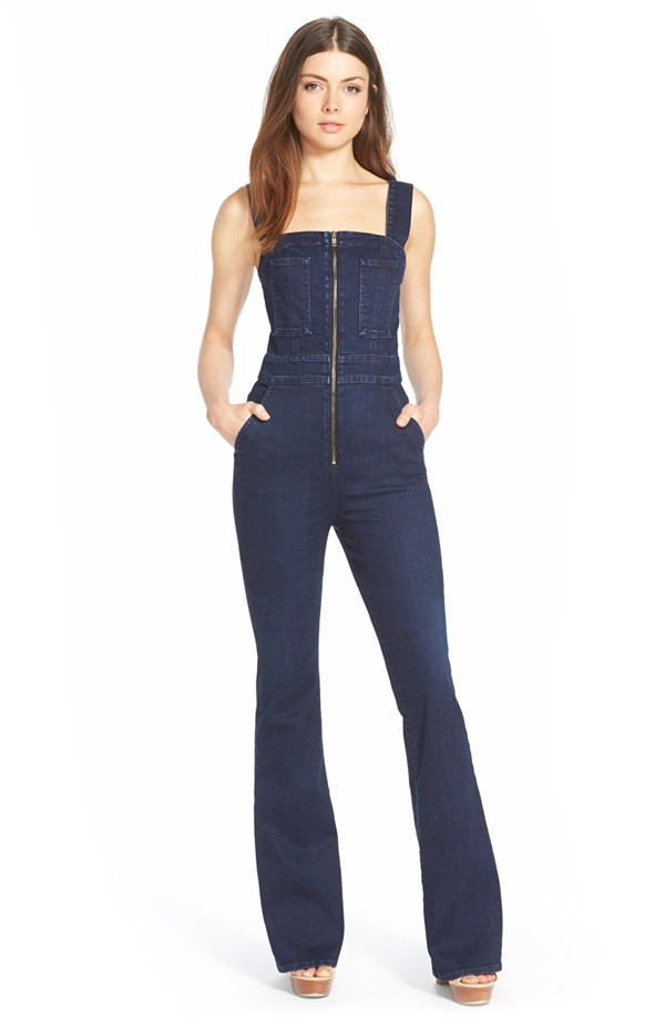 high quality shop for authentic outlet store sale 70s Style Trend - Denim Jumpsuit - Inspirations and Celebrations