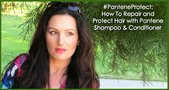 How To Repair Hair with Pantene Shampoo and Conditioner