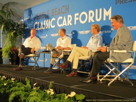 Pebble Beach Classic Car Forum Discusses The Future of Luxury Automobiles