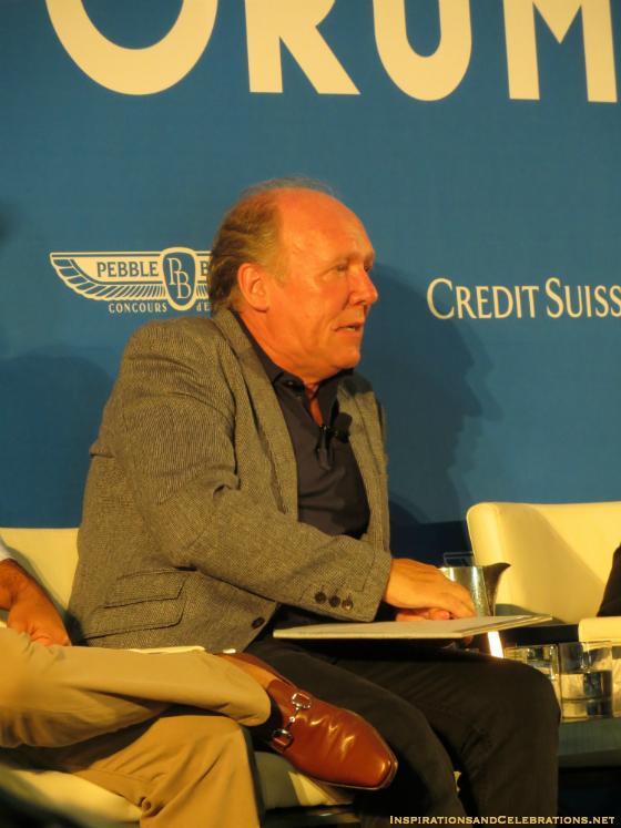 Pebble Beach Classic Car Forum Discusses The Future of Luxury Automobiles - Ian Callum