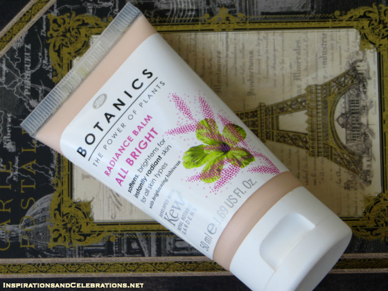 Fall 2015 Makeup Tutorial - Boots Botanics All Bright Radiance Balm