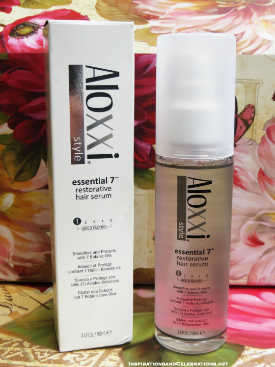 Fall Beauty Giveaway Aloxxi Essential 7 Restorative Hair Serum