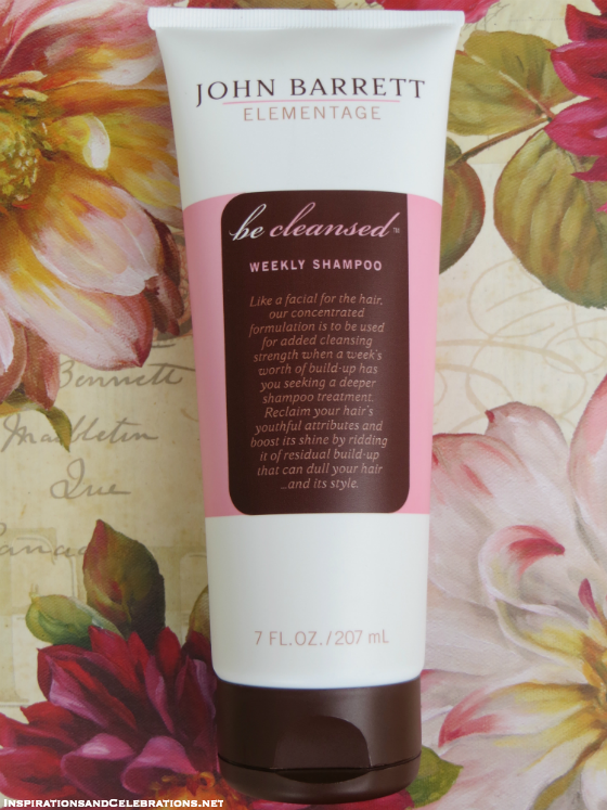 Fall Beauty Giveaway John Barrett Be Cleansed Weekly Shampoo
