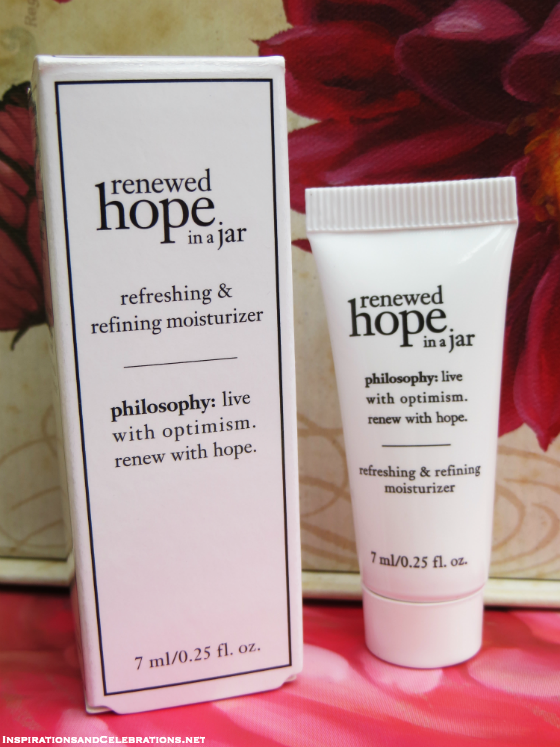 Fall Beauty Giveaway Philosophy Renewed Hope In A Jar