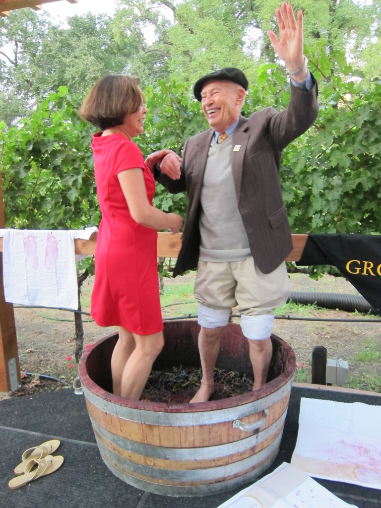 Grgich Hills Grape Stomping Party